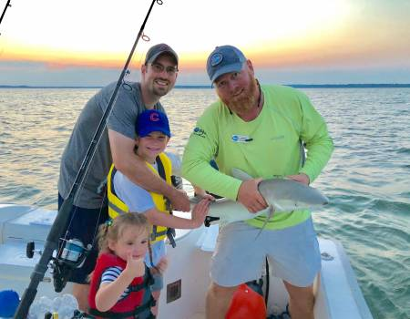 Family Shark Fishing - Up to 10 People